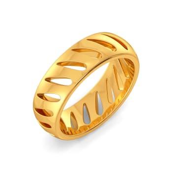 Fun o Fern Gold Rings