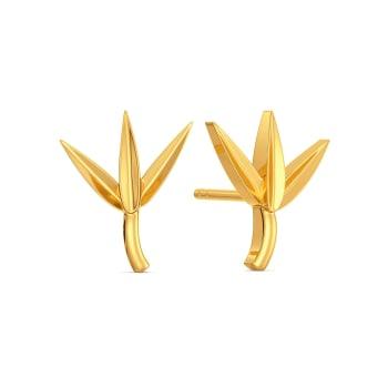 Swanky Dank Gold Earrings