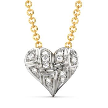 A Tartan Romance Diamond Pendants