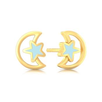 Celestelle Gold Earrings