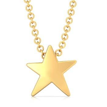 Song of Stars Gold Pendants