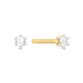 Dotted Dimensions Diamond Earrings