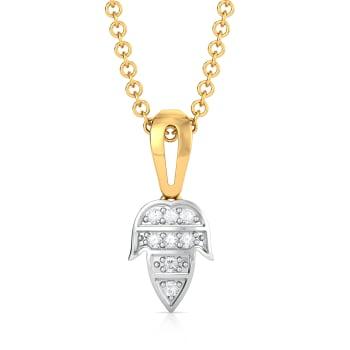 Foliage Fabulous Diamond Pendants