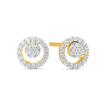 The Ring Ray Diamond Earrings