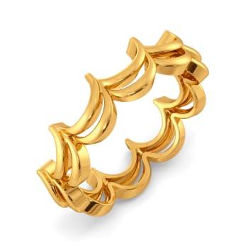 Net Set Go Gold Rings