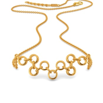 Niche Nets Gold Necklaces