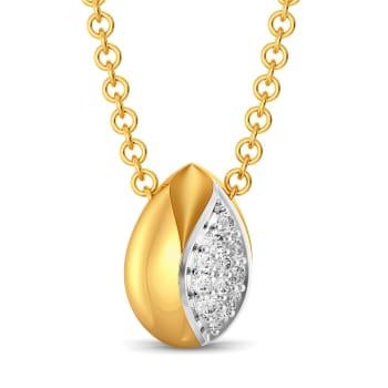 Shimmer Buds Diamond Pendants