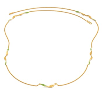 Leaf Land Gold Necklaces