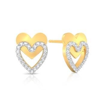 Twice as Nice Diamond Earrings