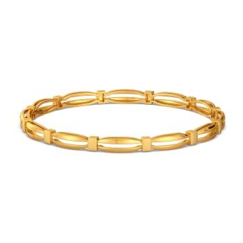Elegant Edge Gold Bangles