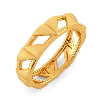 French Flair Gold Rings