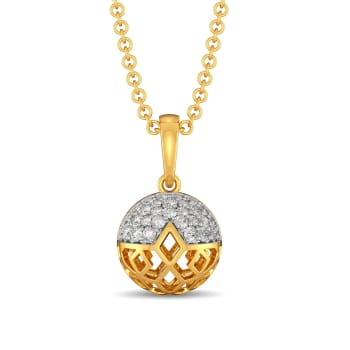 Goblet Glory Diamond Pendants