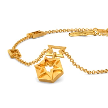 Like A Logo Gold Bracelets