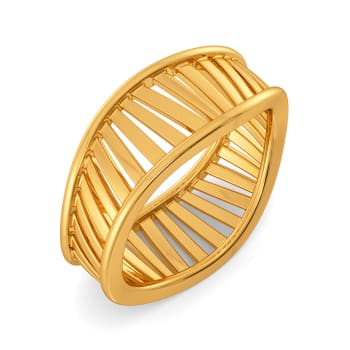 Fashion Fables Gold Rings