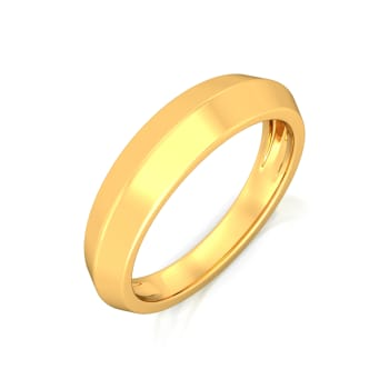 Stunning Simplicity Gold Rings
