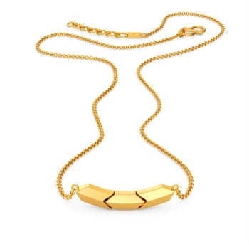 Stunning Simplicity Gold Necklaces