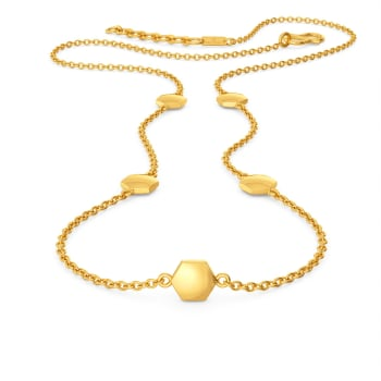 Ace A Maze  Gold Necklaces