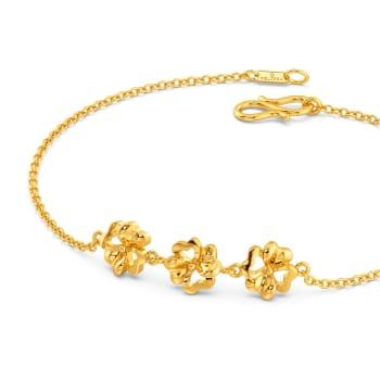 Florally Fabulous Gold Bracelets