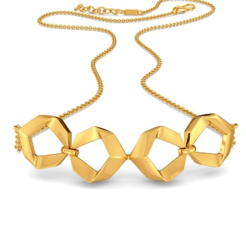 Urban Jungle Gold Necklaces