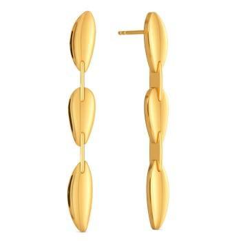 Golden Games Gold Earrings