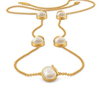 Twirl A Pearl Gemstone Necklaces