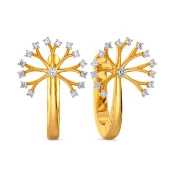 Dandelion Dates Diamond Earrings