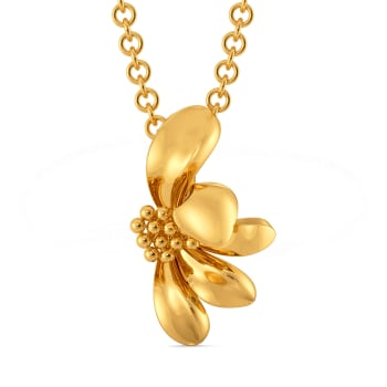 Daisy Glory Gold Pendants