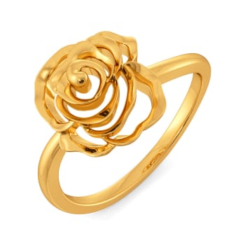Rose Fatale Gold Rings