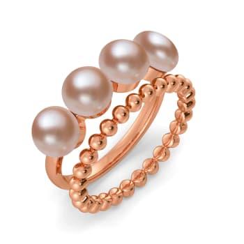 Binge on Beige Gemstone Rings