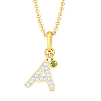 Alice! Diamond Pendants