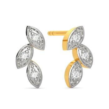 The Curio Trio Diamond Earrings