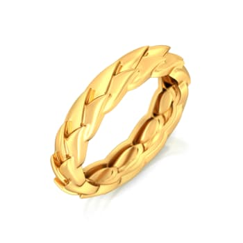Wing-o-Spring Gold Rings