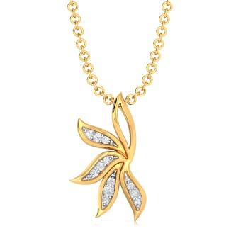 Wreath Bequeath Diamond Pendants