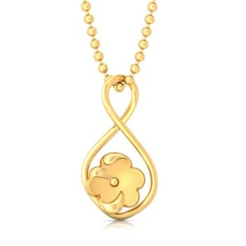 Autumn Gold Gold Pendants