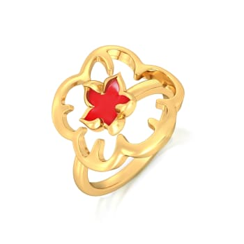 Redazzler Gold Rings