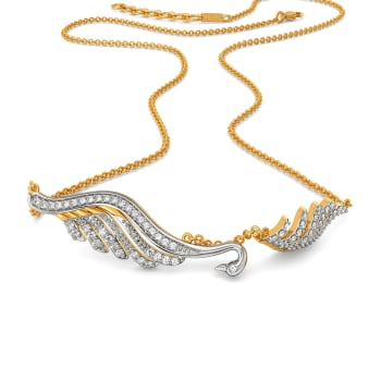 Daring N Demure Diamond Necklaces