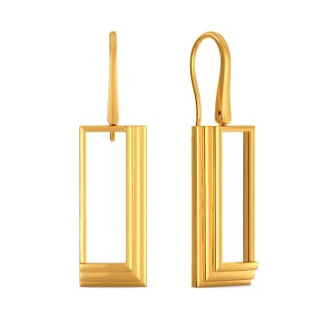 Cocktail Hour Gold Earrings