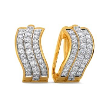 Frill Grandeur Diamond Earrings