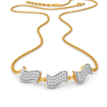 Bold Laureate Diamond Necklaces