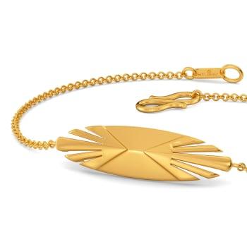 Bold Strokes Gold Bracelets