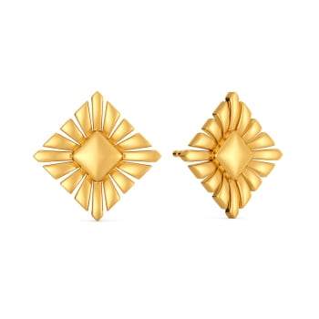 Accent Allure Gold Earrings