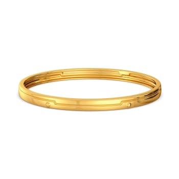 Lock N Latch Gold Bangles