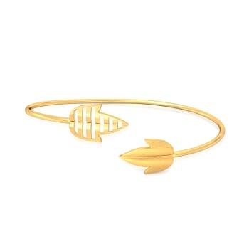 Whimsical mix Gold Bangles