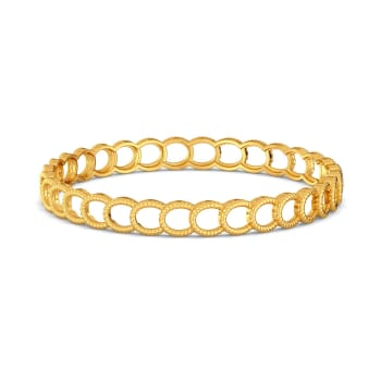 Arch March Gold Bangles