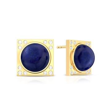 Blue Moon Rising Diamond Earrings