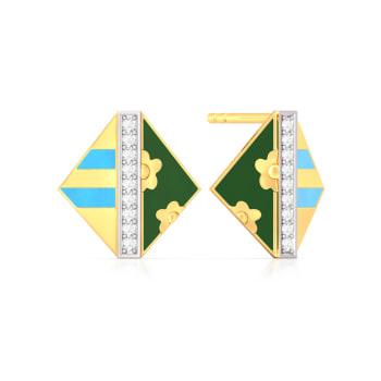 Harmony in chaos Diamond Earrings