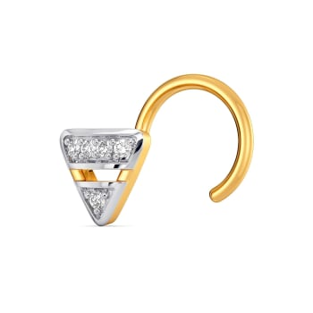 Femme Minimale Diamond Nose Pins