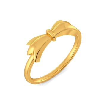 Tales of Bow Gold Rings