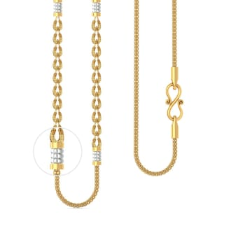 22kt petal link snake chain Gold Chains