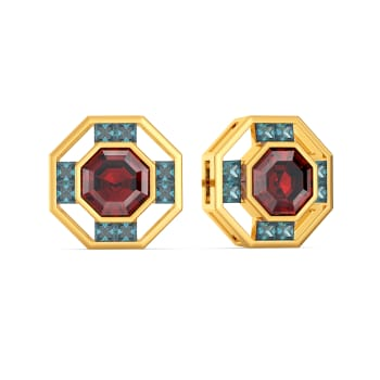 Hues to Drool Gemstone Earrings